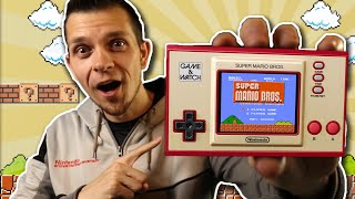 Is It Worth Buying The GAME & WATCH SUPER MARIO BROS? (Review & Unboxing)