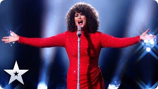 Whitney Houston look-a-like Belinda Davids makes 'I Have Nothing' her OWN! | Semi-Finals | BGT 2020