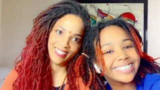 LOC DIY | HOW TO MAKE LOCS LOOK LONGER !