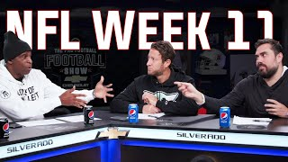Barstool Sports Pro Football Football Show Week 11 with Dave Portnoy, Deion Sanders & Big Cat