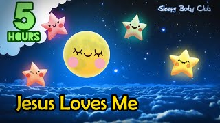 5 Hours ❤ Jesus Loves Me | Relaxing Music Lullaby | Sound for Sleep, Relax, Study