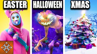 All Of Fortnite Seasonal Updates Explained