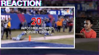 ( REACTION ) 20 Impossible Moments in Sports History
