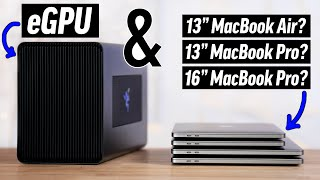 Is an eGPU worth it for your MacBook in 2020? (&  ARM)