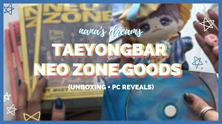unboxing haul | nct taeyongbar neo zone goods + photocard reveals