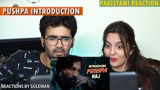 Pakistani Couple Reacts To Introducing Pushpa Raj | Allu Arjun | Pushpa | Rashmika | DSP