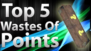 "TOP 5 Wastes Of Points in ""Call of Duty Zombies"" - Black Ops 2 Zombies, Black Ops, & World at War"