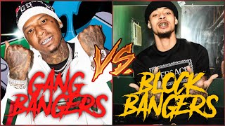 Rappers In Gangs Vs. Rappers Banging The Block