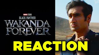 Marvel Eternals & Black Panther Wakanda Forever Announcement Reaction!
