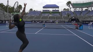 Tennis Trick Shots ft. Serena Williams | Dude Perfect