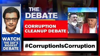 Lobby's Doublespeak On Corruption Exposed | The Debate With Arnab Goswami
