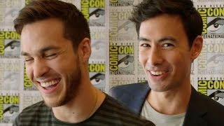 Containment Cast Plays Rapid Fire Game - Comic Con 2015