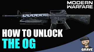 How To Unlock The OG M16 Blueprint In Modern Warfare | Call Of Duty Modern Warfare