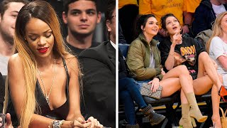 CELEBRITIES at NBA GAMES 2020