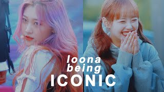 loona being iconic