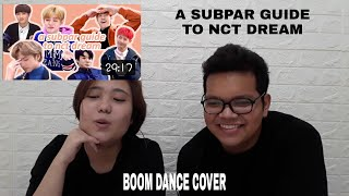 NCT Dream Reaction// Reacting to a subpar guide to nct dream (softjun) // Boom short dance cover