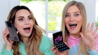 Ro Reacts to new Samsung Phones - ZFlip and Galaxy S20 Ultra