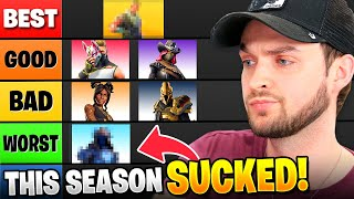 I RANKED *EVERY* Fortnite Season! (HONEST OPINION)