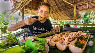 Backyard Food Paradise!! Farm to Table THAI FOOD in the Rainforest!! | Khao Sok, Thailand