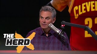 LeBron James has one good reason to head to the Los Angeles Lakers, Colin explains | THE HERD