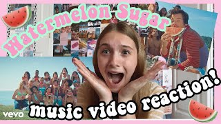 water melon sugar music video reaction! Harry Styles