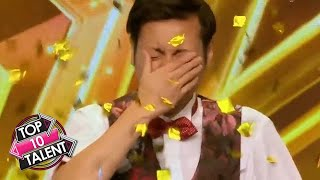 TOP 10 MESMERISING Magician Auditions On Asia's Got Talent!