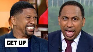 Stephen A. has a meltdown over Jalen Rose's advice to Knicks fans | Get Up