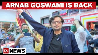 Team Republic Welcomes Arnab Goswami Back To The Newsroom