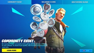 FORTNITE IS GIVING YOU V-BUCKS!