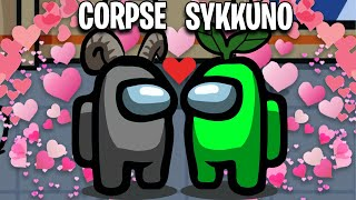 corpse and sykkuno can't stop simping..