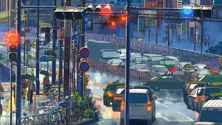 Rainy Days In Tokyo [Lofi Hip Hop / Jazzhop / Chillhop Mix] - Beats to chill/study/relax