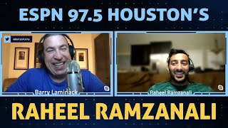 Raheel Ramzanali (ESPN 97.5) Joins Me. He's funny, he's creative, and he's a ball buster. PERFECT!