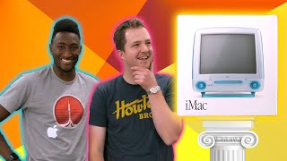 Unboxing a SEALED iMac G3 with MKBHD!