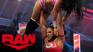 Bianca Belair vs. Zelina Vega: Raw, Aug. 10, 2020