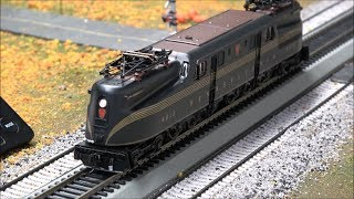 Review: Broadway Limited GG1 w/ DCC and Paragon 3 Sound! BLI!