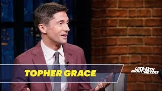 Topher Grace on Playing David Duke in BlacKkKlansman