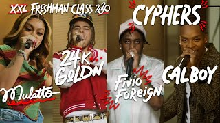 Fivio Foreign, Calboy, 24kGoldn and Mulatto's 2020 XXL Freshman Cypher