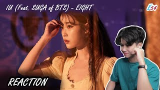 Reaction #54 - 'Eight' by IU/아이유 (Feat. Suga of BTS)