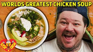 Worlds Greatest Chicken Soup | Pollo Verde | Matty Matheson | Just A Dash | EP 6