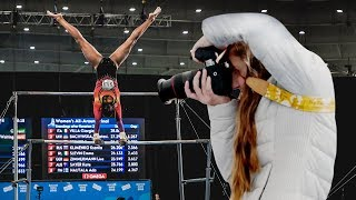 How Do GYMNASTS Do That!? | Photographing the 2018 Youth Olympic Games Gymnastics