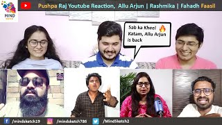 Pushpa Raj Youtuber Review Reaction | Allu Arjun | Rashmika | Fahadh Faasil | Hit or Flop ?