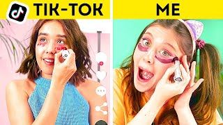 40 MAKEUP HACKS and BEAUTY TRICKS To Look Pretty