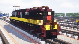 Minecraft PRR GG1 Electric Locomotive Tutorial