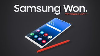 Why Samsung is about to take over.