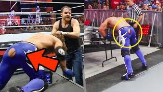 WWE Top 10 FUNNIEST Moments of 2018 - WWE OMG MOMENTS #2