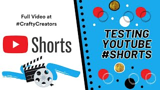 🔬Testing 🎞YouTube #Shorts | Full 🎥Video at Crafty Creators