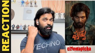Introducing Pushpa Raj Reaction | Allu Arjun | Pushpa | Rashmika | Fahadh Faasil | DSp | Sukumar