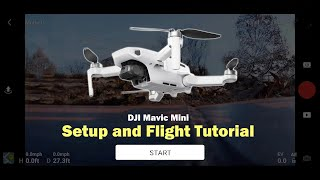 Getting Started with the DJI Mavic Mini - Setup and First Flight