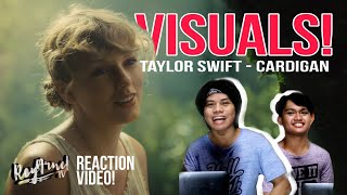 Taylor Swift - cardigan (Official Music Video) REACTION Philippines