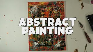 Abstract Acrylic Painting | The Moral | Art